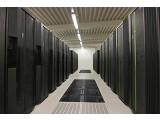 Bild: Blizzard in Hamburg: IBMs Supercomputer-Installation im Klimarechenzentrum kann auch Wirbelstürme und Meereswirbel berechnen.