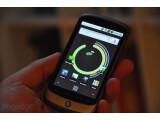 Bild: Das Google-Handy Nexus One wird von HTC gebaut. Ein Logo des taiwanischen Herstellers findet sich aber nicht auf dem Smartphone.