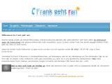 Bild: Über die auf der Webseite bekanntgegebenen Nummer beantwortet Frank alle unliebsamen Telefongespräche.