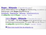 Bild: Google-Suche: Eine Liste von Seitenabschnitten unter dem Beschreibungstext soll den Weg zur Fundstelle erleichtern.