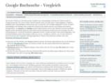 Bild: Auf der Seite www.googlebooksettlement.com versammeln sich die Verlage und Autoren im Rechtsstreit gegen Google.