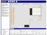 Bild: Das Hauptprogrammfenster des IKEA-Wohnungsplaners.