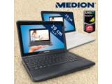 Bild: Medion Akoya Mini E1312: Netbook mit großen Bildschirm und untypischer Ausstattung.