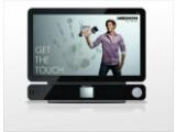 Bild: Medion The Touch X9613: Wird mit Windows 7 ausgeliefert.