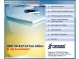 Bild: Das übersichtliche Hauptmenü von Paragon Drive Backup.