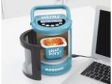 """Bild: Mini-Mikrowelle: Eine Haushalts-Mikrowelle ersetzt die """"Beanzawave"""" nicht."""