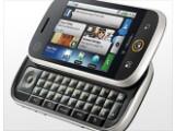 Bild: Für Vieltipper und Internetnutzer: Das Motorola Dext bietet einen 3,1-Zoll-Touchscreen und eine ausziehbare Tastatur.