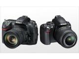 Bild: Zwei neue Schwestern: Nikon D300S und D3000 (von links, Quelle: Nikon)