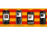 Bild: Kleine Auswahl: Anfangs kann der Musikdienst nur mit vier Handys von Nokia genutzt werden.