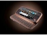 Bild: Das Nokia N97 Mini ist ein Ableger des bereits erhältlichen N97. Es verfügt ebenfalls über eine ausziehbare Tastatur.