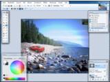 Bild: Das übersichtliche Hauptprogrammfenster von Paint.NET gestattet auch unerfahrenen Nutzern das einfache Bearbeiten von Bildern.