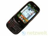 Bild: Das erste Handy mit WebOS: Palm Pre.