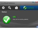 Bild: Die übersichtliche Benutzeroberfläche von Panda Cloud Antivirus