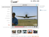 """Bild: """"Best of the Web"""": Reddit.tv listet auf einer übersichtlichen Seite die beliebtesten Videoclips der Reddit-Community auf."""