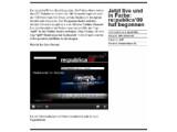 Bild: Viele Vorträge und Diskussionen kann man live auf der Homepage der re:publica 09 verfolgen.