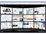 """Bild: Auch unter Windows glänzt Safari 4.0 mit Funktionen wie """"Top Sites"""" und """"Coverflow"""". Der Browser wirkt stabiler und lädt Webseiten zügig."""