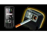 Bild: Ein Handy mit eingebautem Zigarettenanzünder: Weitere Handy-Exoten finden Sie in der Klickstrecke.