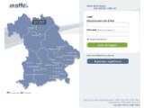 Bild: Log-In Seite von Eraffe.de