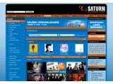 Bild: Startseite zum Saturn Musikportal