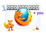 Bild: Mozilla Firefox: Den Meilenstein feiern die Entwickler mit einer eigenen Webseite.