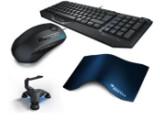 Bild: Maus, Tastatur, Hub, Mauspad: Alles was sich Gamer wünschen schnürt Roccat im Paket SDMS zusammen.