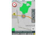 Bild: Das Kartenmaterial stammt von Navteq, wird aber Anfang März 2010 auf OpenStreetMap umgestellt.
