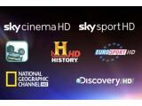 Bild: Diese sieben HD-Programme bietet Sky an.