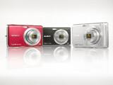 Bild: Die Sony Cybershot DSC-W180 bietet 10,1, die DSC-W190 dagegen 12,1 Megapixel. Die anderen technischen Daten sind identisch.