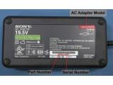 Bild: Sony Netzteil: So finden Sie die Produkt- und Seriennummer
