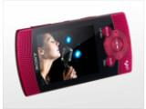 Bild: Sony NWZ-S540: Eingebaute Stereo-Lautsprecher sorgen für Unterhaltung.