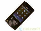 Bild: Mit eingebauten Lautsprechern und langem Atem: Sony Walkman NWZ-S544.