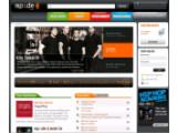 Bild: Startseite des MP3.de-Musikportals