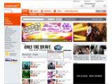 Bild: Startseite des Musikportals