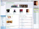 Bild: Die Startseite zum Musik-Katalog von Napster Light