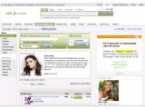 Bild: Startseite des AOL Musikportals