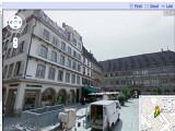 Bild: In Straßburg waren sie schon. Die umstrittenen Autos von Google, die alle Straßen fotografieren.