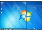 """Bild: Den freien Blick auf den Desktop gestattet die Kombination """"Windows-Taste + Leertaste""""."""