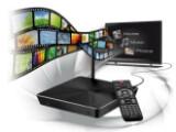 """Bild: Der """"WLAN HD MediaPlayer"""" Moviestation Antarius von Trekstor befördert Filme, Fotos und Musik drahtlos durch die Lüfte."""