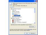 """Bild: Über den """"Öffnen mit""""-Dialog kann jeder Dateityp dauerhaft mit einem Programm verknüpft werden."""