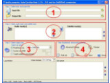 Bild: In nur vier Schitten erstellt das Programm eine fertige DivX- oder Xvid-Datei