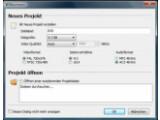 Bild: DVDStyler: Das Willkommen-Fenster hilft bei jedem Programmstart bei den ersten Einstellungen.