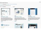 Bild: Mit Wordpress 2.8 wird das Installieren von Themen vereinfacht. Eine integrierte Suche hilft, das richtige Design zu finden.