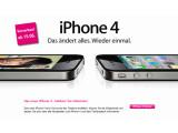 """Bild: """"Das ändert alles. Wieder einmal"""" wird das iPhone 4 beworben. Was deutsche Kunden für das neue Apple-Handy bezahlen, ist noch nicht bekannt. Bild: Screenshot"""