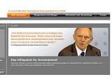 """Bild: """"Wir helfen Griechenland und verteidigen die Stabilität der Eurozone"""", sagt Finanzminister Schäuble auf seiner Homepage. Der Hacker-Club 2.0 hilft auch – aber viel wirksamer als alle Finanzminister zusammen."""