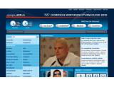 Bild: Die ARD berichtet über die Olympischen Winterspiele in Vancouver auch im Netz - und strahlt auf der Plattform ihre HD-Sendungen per Online-Stream aus. Bild: Screenshot