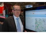 Bild: Martin Fornefeld, Geschäftsführer der Konext GmbH, auf der CeBIT 2010 in Hannover. Der Experte berät Regionen beim Breitbandausbau. Foto: Zollondz