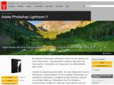 Bild: Adobe hat eine neue Version seiner Fotoverwaltungssoftware Lightroom veröffentlicht. Bild: Screenshot