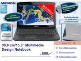 Bild: Aldi bietet ab Donnerstag ein Multimedia-Notebook von Medion an.
