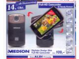 Bild: Aldi Nord hat einen Full HD Camcorder im Handy-Format im Angebot.