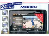 Bild: Aldi Nord verkauft ab Donnerstag, 24.06.2010, das Medion GoPal P4440 für 159 Euro. Bild: Screenshot